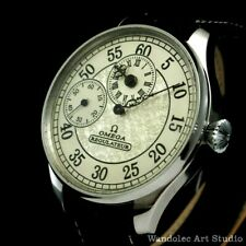 Vintage Men's Wristwatch Stainless Steel Omega Regulateur Mens Wrist Watch Swiss