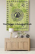 Meditation Wall Hanging Om Tapestry Indian Lord Buddha Table Cover Yoga Mat Boho