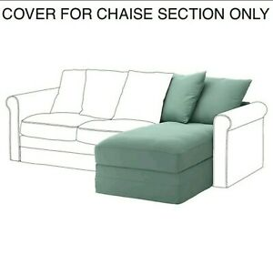 IKEA Gronlid Cover Slipcover For Chaise Section Ljungen Light Green 903.970.82