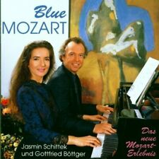 Gottfried Böttger [CD] Blue Mozart (1991, & Jasmin Schittek)