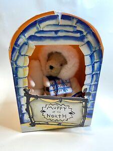 VanderBear Muffy Of The North 1994 Holiday Limited Edition Pet Seal Original Box