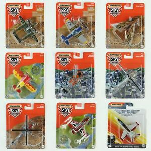 Matchbox Sky Busters Mattel Commercial & Military Toy Aircraft Planes