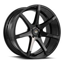 "20"" Savini Wheels Black Di Forza BM 10 (4) Gloss Black Finish With Lug Nuts"