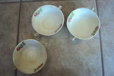 3 - Alfred Meakin Astoria Shape England Vintage Marigold Cup/Bowl