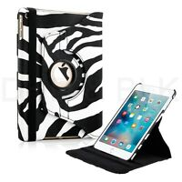 rotación 360º Piel Funda Folio Soporte Apple iPad Mini 2 3 4 Air Pro