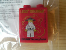 Lego Ninjago Sammelstein Sonderstein Legoland Discovery Centre Maître Wu