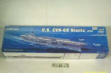 2004~TRUMPETEER~NIB~U.S. CVN-68 NIMITZ 1975~AIRCRAFT CARRIER MODEL KIT~1:350~