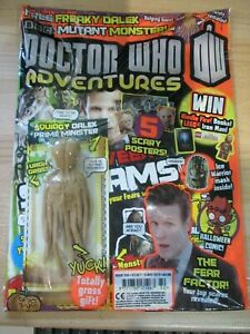 Doctor Who Adventures Magazine ISSUE # 332 NOV 2013 FREE  FREAKY DALEK