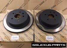Lexus IS350 (2006-2013) OEM Genuine REAR BRAKE ROTOR SET 42431-30290 (x2)
