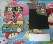 Caja + Cartucho Juego Goal! 2 Nintendo Nes Versión Pal B España 100% Original
