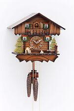 Original 1 día Reloj de cuco,clásico,fácil Kammerer,Casa del bosque,Hecho a mano