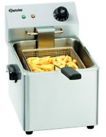 Bartscher Fritteuse Friteuse SNACK III 50-190°C 8L 265x430x340mm Gastlando