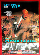 KEEPER OF THE CITY 1991 LOUIS GOSSETT Jr ANTHONY LaPAGLIA RARE EXYU MOVIE POSTER