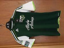 New Adidas Mls Fc Portland Timbers 11/12 Soccer Jersey P10457 U.S Mens Small $80