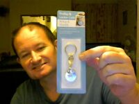SHOPPING TROLLEY & LOCKER COIN KEY RING PERFECT BIRTHDAY GIFT!  FREE UK POST