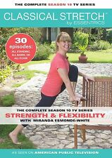 Classical Stretch Complete Season 10 Miranda Esmonde Technique 4-DVD set