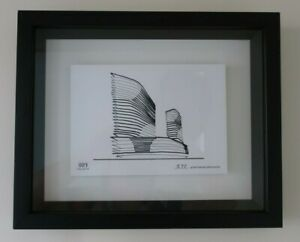 889 COLLINS STREET MELBOURNE limited edition ARCHITECTURAL PRINT box frame BOX