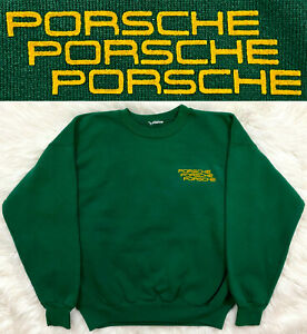 Vintage 80s GERMAN CAR COMPANY Crewneck Sweatshirt Auto Racing Shirt T sz M
