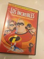 Dvd LOS INCREIBLES (EDICION ESPECIAL 2 discos) ( coleccionistas )