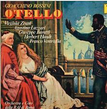 Rossini: Otello / Previtali, Zeani, Lazzari, Baratti, Baratti, Roma 18/6/1960 LP