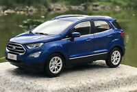 1/18 Scale Ford Ecosport SUV Blue Diecast Car Model Toy Collection