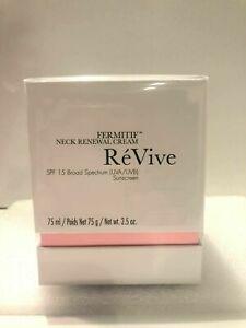 ReVive Fermitif Neck Renewal Cream 75ml/2.5oz   NIB