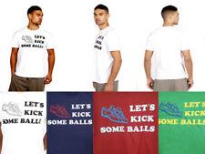 Camisetas de hombre de manga corta color principal rojo 100% algodón