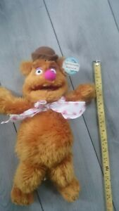 "Nanco The Muppets Animal Plush Stuffed Hang Doll Drummer Chain Jim Hensen 15/"""