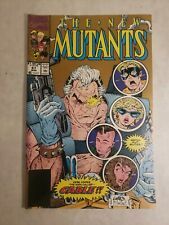 New Mutants #87 CGC 9.6 1st Appearance of Cable 2nd Printing Variant