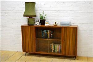vintage sideboard bookcase Morris of Glasgow mid century danish design DELIVERY