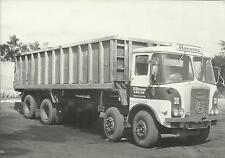 OLD BLACK & WHITE LORRY & TRUCK PHOTOGRAPHS ATKINSON TIPPER R HANSON & SON
