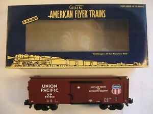 """American Flyer 6-49065 """"UNION PACIFIC """" DIESEL SOUNDS BOXCAR """"NEW"""" in ORIG BOX"""