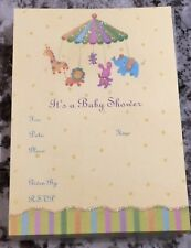 Papyrus Baby Shower Set Of 10 Invitations