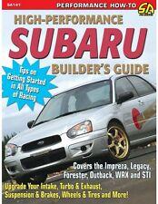High-Performance Subaru Builder's Guide~Impreza~Legacy~WRX~STI~New!