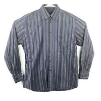 Camicissima Men's Dress Button Striped Shirt Fashionable Italy Size: 41/16 (181)