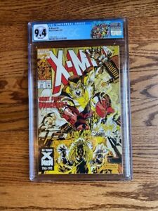 X-Men 19 CGC 9.4  White Pages Omega Red Appearance - New CGC X-Men Label