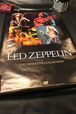"""Led Zeppelin Definitive Collection 2 Sided Poster 24"""" x 36"""""""