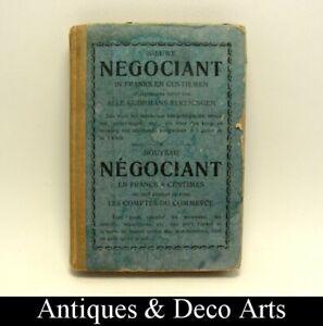Livre Antique : Nouveau Négociant – Antiek Boekje : Nieuwe Negociant