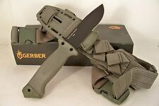 Gerber LMF II INFANTRY KNIFE Foliage Green Wolf Grey Survival Military Bushcraft