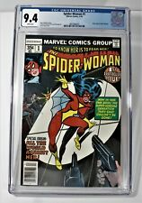 The Spider Woman #1 CGC 9.4 New Origin of Spider Woman