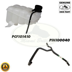 LAND ROVER RADIATOR EXPANSION TANK RESERVOIR + HOSE DISCOVERY II 99-03 GENUINE