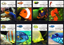 Poland 2014 Coral Fish Stamp Exhibition WARSZAWA Complete Set of Stamps, MNH