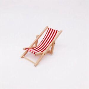 Beach Chair Wooden Foldable Deckchair Foldable Beach Chair For Doll Deckchair