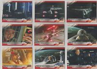 2018 TOPPS STAR WARS THE LAST JEDI SERIES 2 COMPLETE BASE SET 100 CARDS