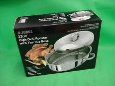 Judge 32cm High Oval Roaster with Thermic Base -  Unused - (Office)