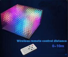 AuraCube 8x8x8 3D RGB LED Cube DIY Kit Full Color