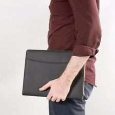 Business Portfolio Padfolio Executive Black PU Binder Folder Organizer Case Gift