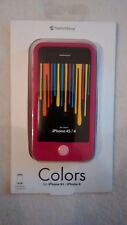 SwitchEasy Colors Apple iPhone 4S & 4 Silicone Phone Case & Screen Protectors
