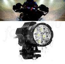 Spot 9 LED Headlight Shooter Lamp Motorcycle Fog Spotlight Mount Waterproof 1x