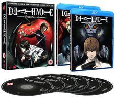 DEATH NOTE Complete Season Series & OVA Collection 6 Disc Boxset NEW BLU-RAY